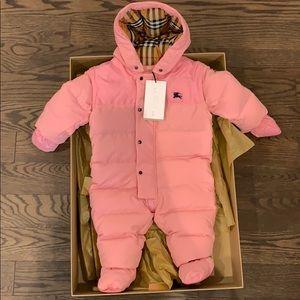 Burberry infant snow suit
